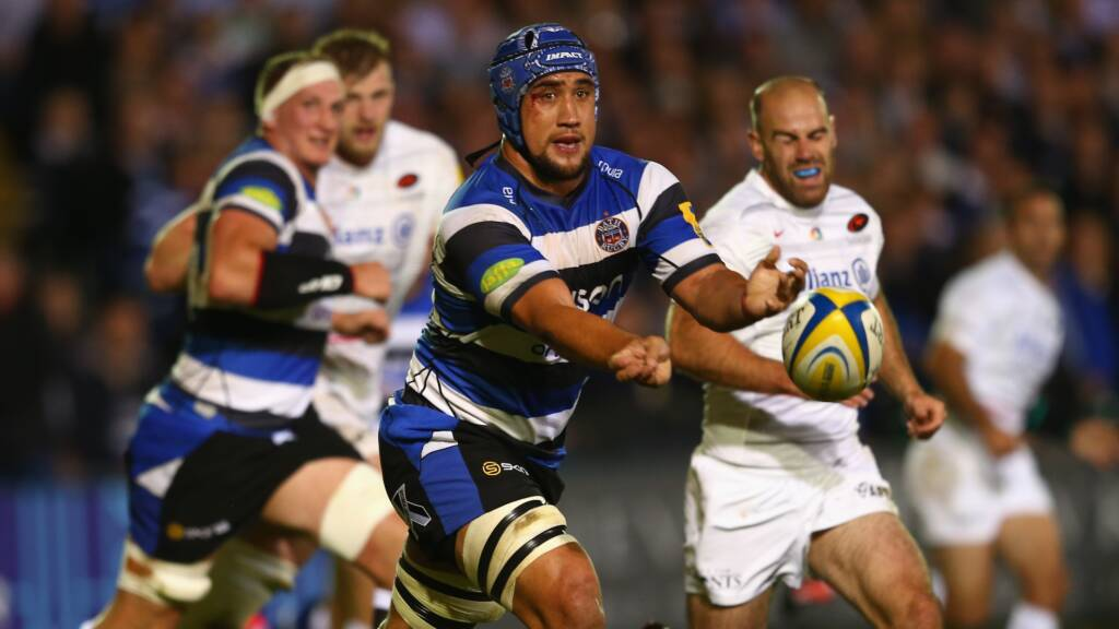 Back row trio commit to Bath Rugby
