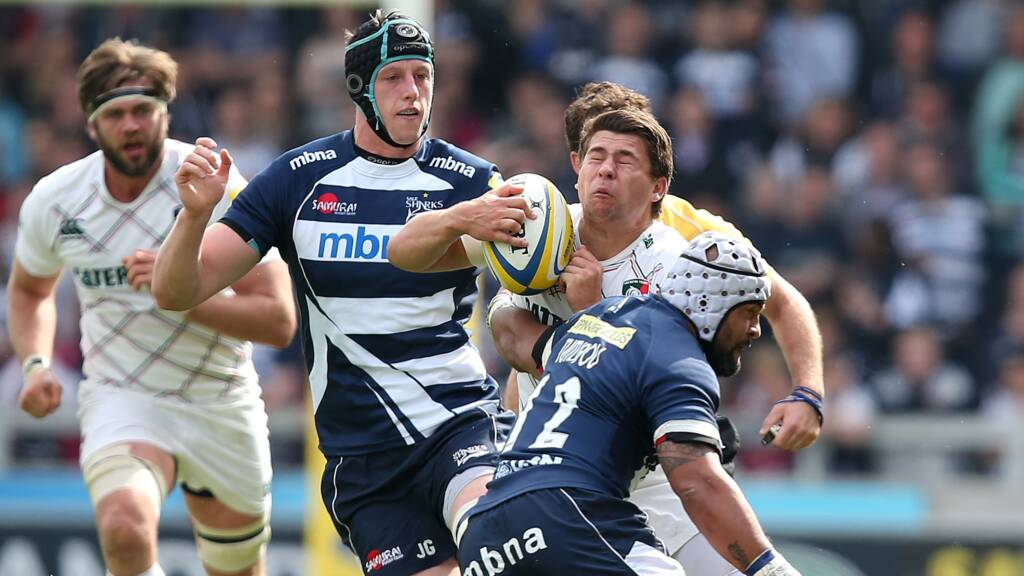 Leicester Tigers 28 Sale Sharks 8