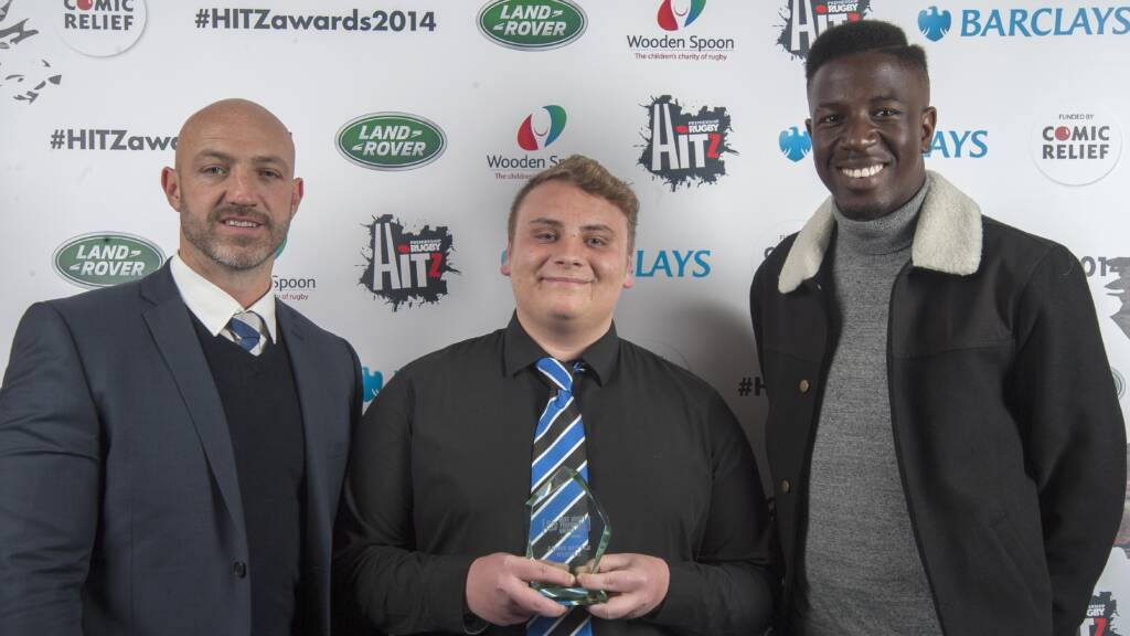 Bath Rugby's Jason bags HITZ Best Rugby Performer award
