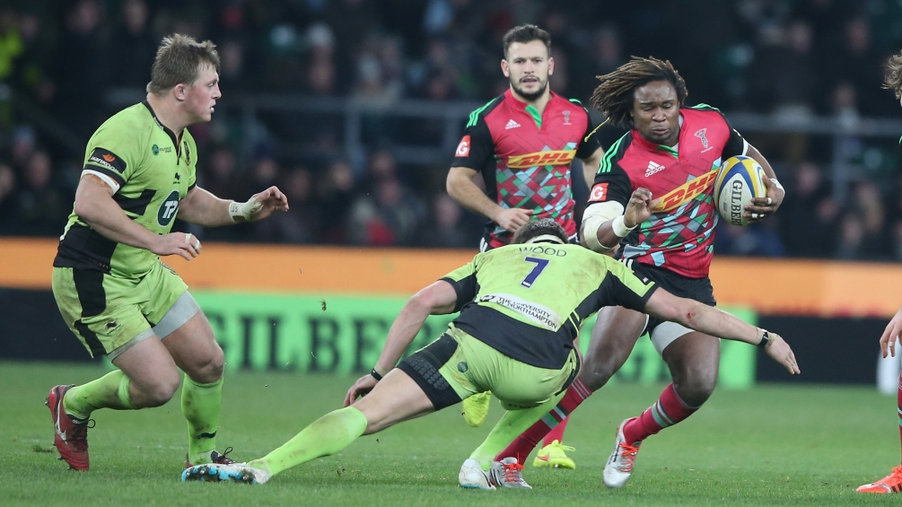 Northampton Saints made to dig deep at Twickenham