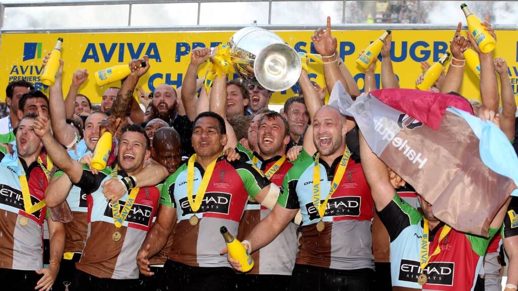 Relive the Aviva Premiership Rugby Final 2012