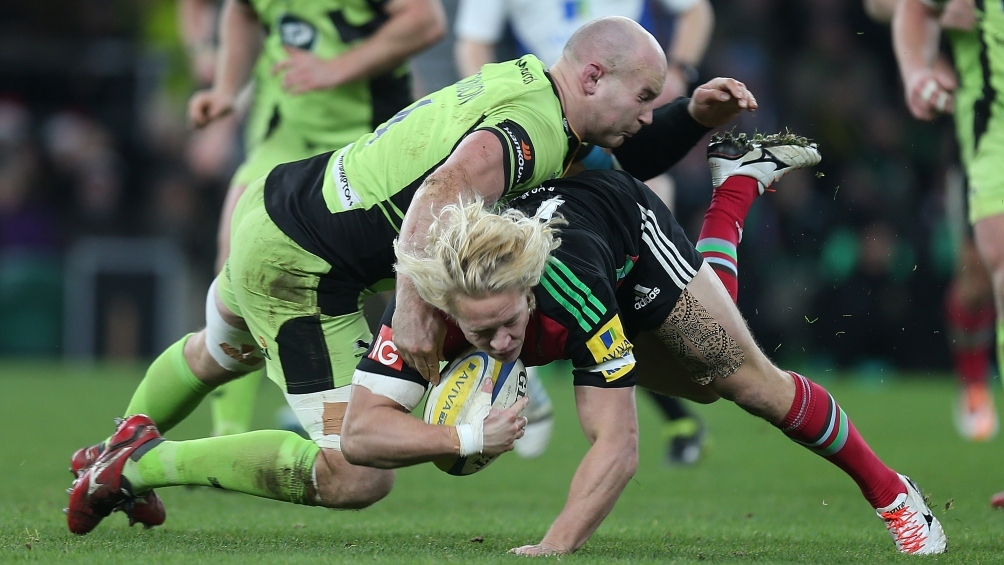 Dickinson primed to play vital role for Northampton Saints