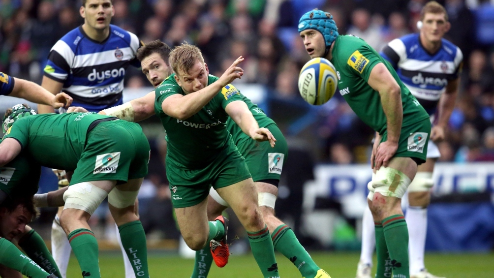 Steele revelling in starting role at London Irish