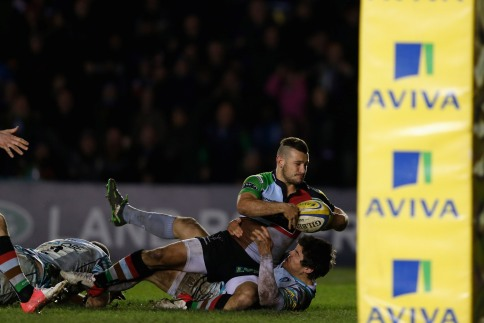 Harlequins 25 Leicester Tigers 21