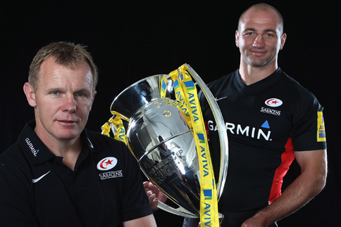 Saracens coaching staff extend until 2014