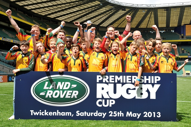 Land Rover rugby stars given opportunity of a lifetime at Twickenham