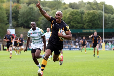 London Wasps 43 London Irish 14