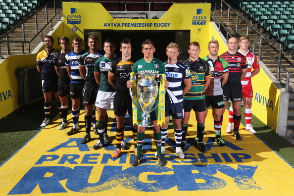 Club captains predict most competitive season yet at official Aviva Premiership launch