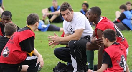 Rugby's core values helping disillusioned young people