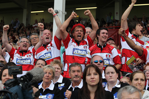 Scientists confirm Gloucester Rugby fans as the most passionate in the Aviva Premiership