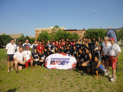 Premiership Rugby Coaches Visit High Schools In Queens, Brooklyn And The Bronx