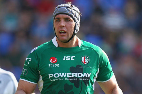 Bryn Evans to captain Irish against Saracens