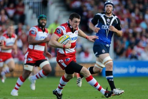 Gloucester Rugby 16 Bath Rugby 10