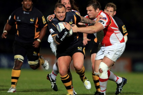 Wasps' Thomas eager to make up for lost time