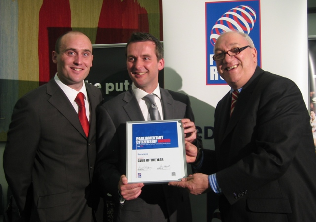 Saracens named Community Club of the Year