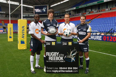 Rugby at the Reebok- Sale Sharks v London Irish
