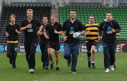 Three Days Remaining To Win A Training Session From Premiership Rugby Players, or £1,000 worth of kit, courtesy of QBE