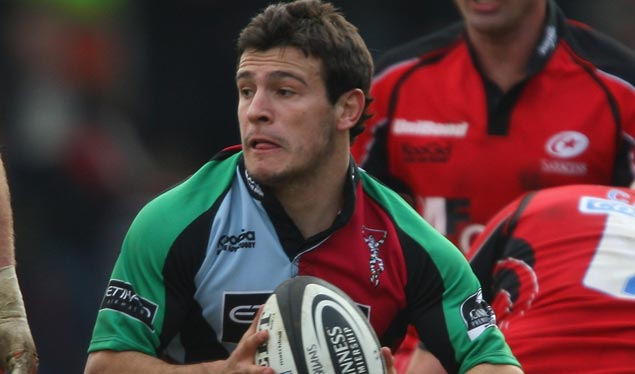 Quins' England trio return to face Warriors