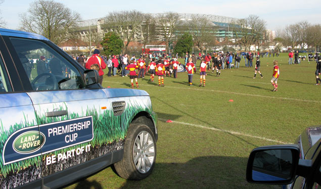 Land Rover champions honoured on Twickenham turf