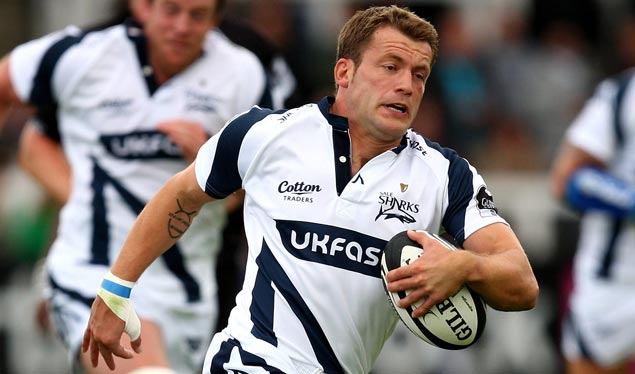 Sale Sharks Mark Cueto looks ahead to Friday's game