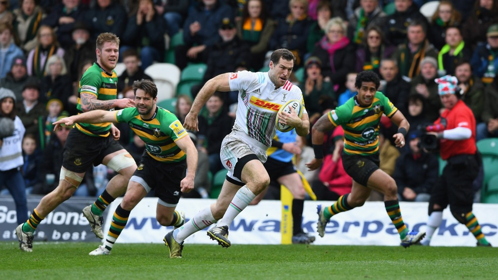 Tim Visser relishing London Double Header debut with Harlequins