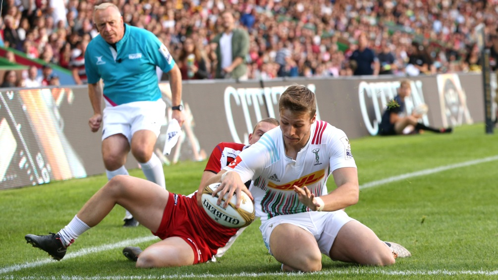 Robbie Nairn keen to kick on for Harlequins once again at Singha 7s