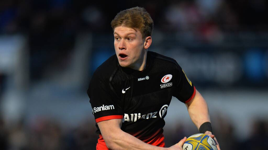 Tompkins signs long-term deal with Saracens