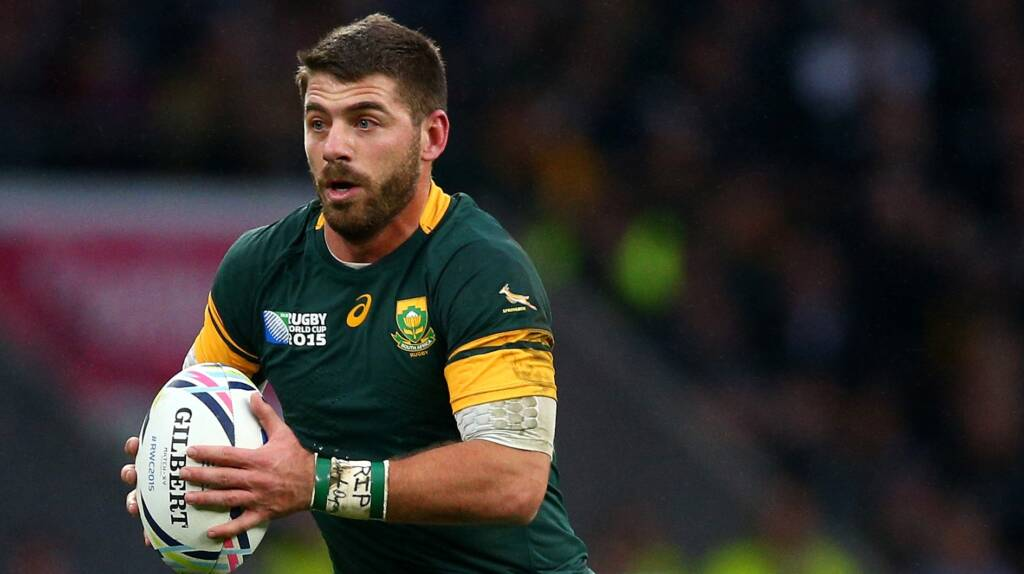 Wasps sign Springbok Willie Le Roux