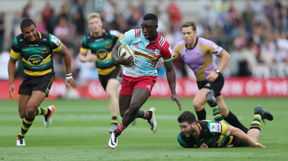 Harlequins' Gabriel Ibitoye eyes country's best at Singha 7s Final