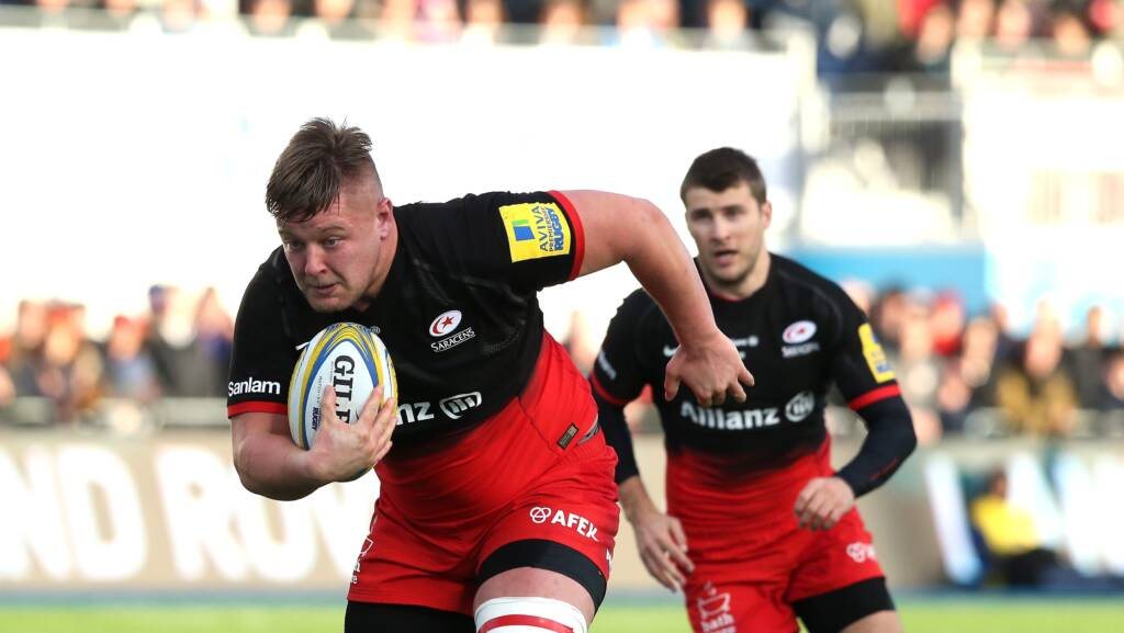 Prop duo extend Saracens stay