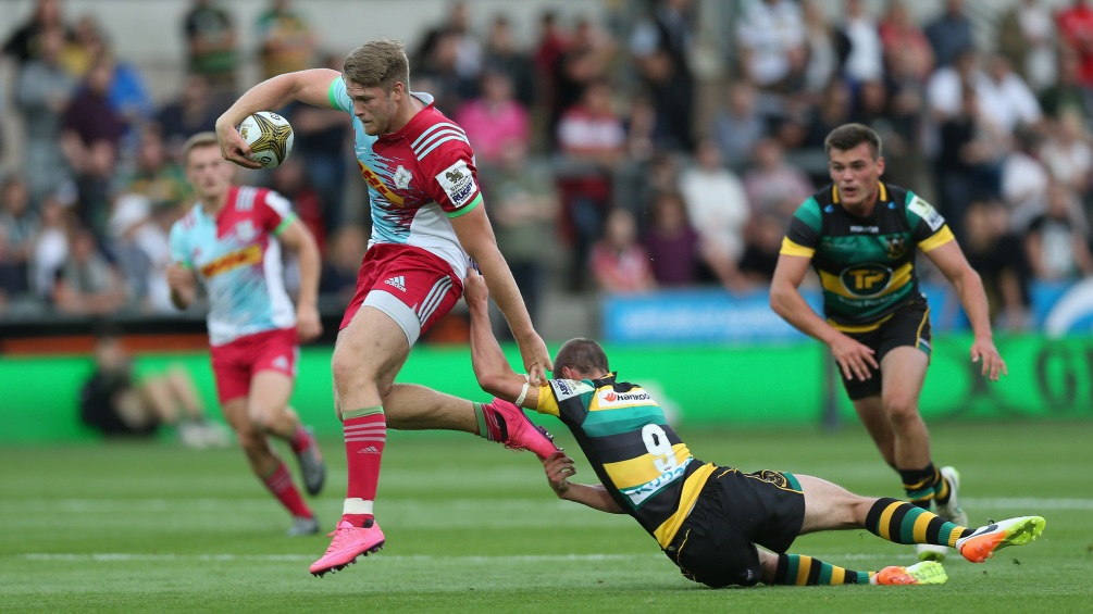 Henry Cheeseman wants to be latest off Harlequins' Singha 7s production line