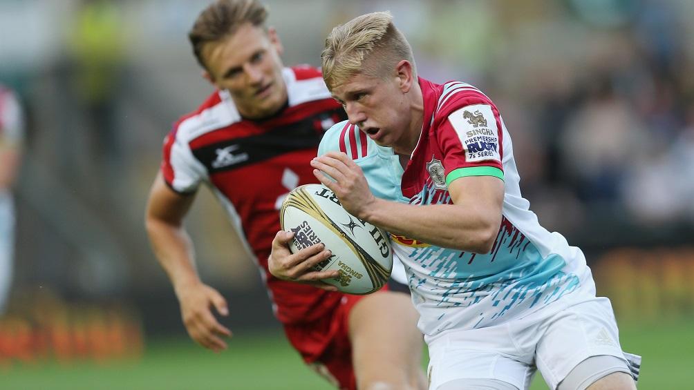 Man of the Round Cam Cowell confident in Harlequins' Singha 7s potential