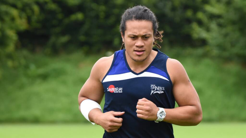 TJ Ioane signs a new three-year contract at Sale Sharks