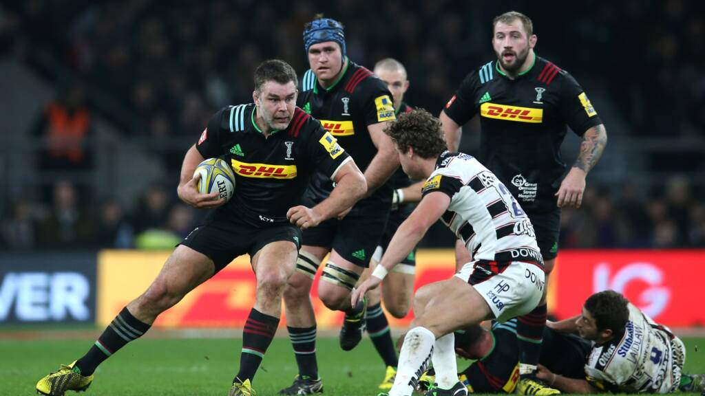 Harlequins Number 8 Nick Easter announces his retirement