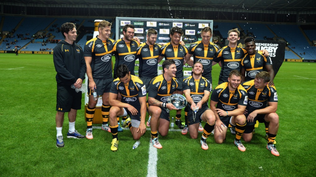 Wasps' Nick De Luca wants Coventry cauldron for Singha 7s final