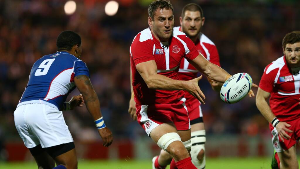 Giorgi Nemsadze agrees terms with Bristol Rugby
