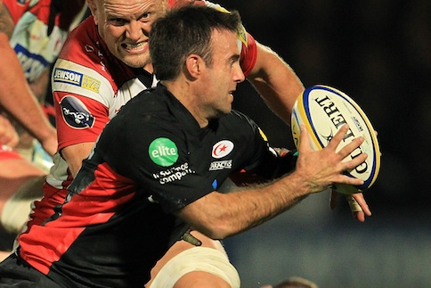Saracens leave it late to storm the Kingsholm citadel