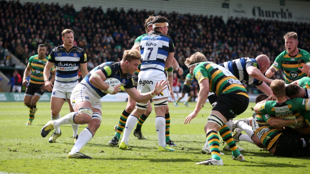 Match Report: Northampton Saints 15 Bath Rugby 14
