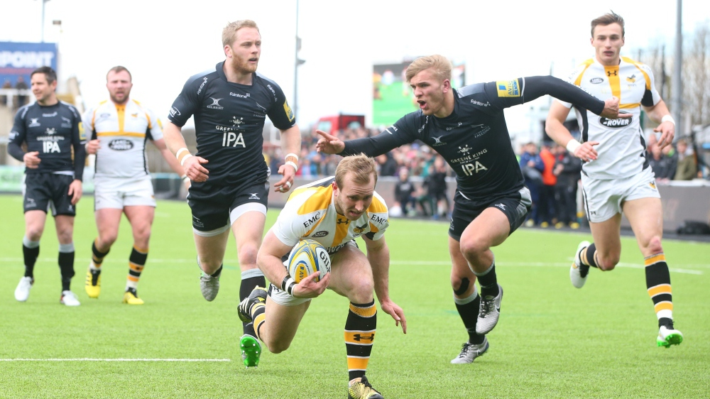 Match Report: Newcastle Falcons 20 Wasps 34