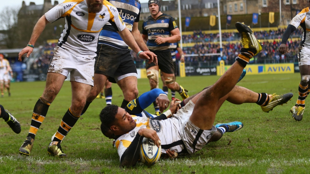 Match Report: Bath Rugby 18 Wasps 24