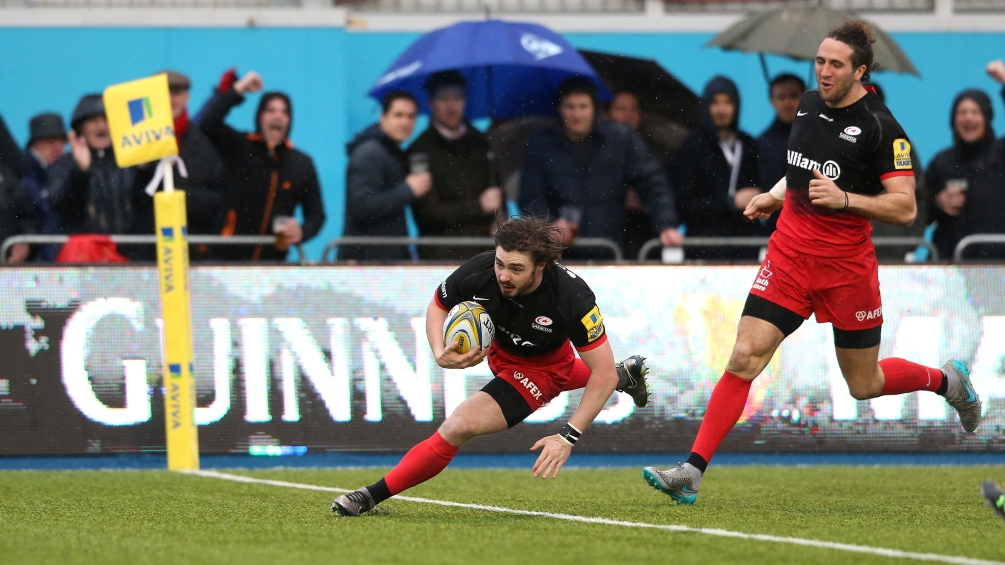 Match Report: Saracens 25 Gloucester Rugby 12