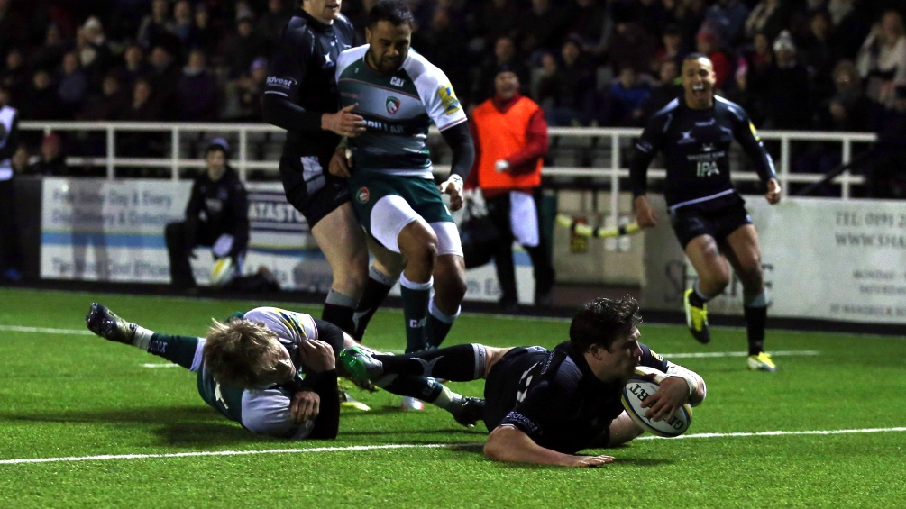 Match Report: Newcastle Falcons 26 Leicester Tigers 14