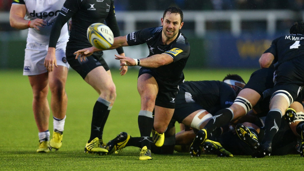 Michael Young skippers Newcastle Falcons in European semi