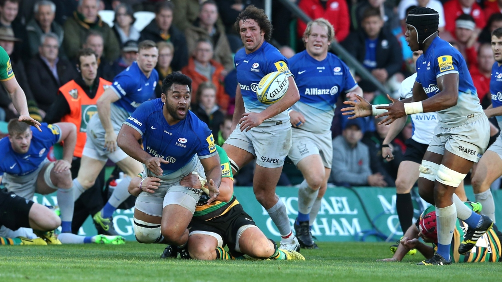 Match Report: Northampton Saints 6 Saracens 12