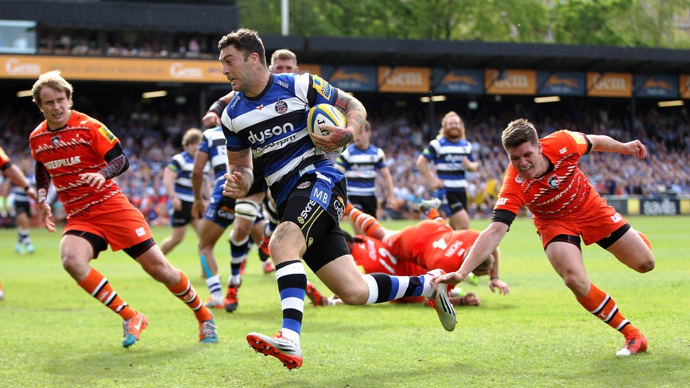 Bath Rugby 47 Leicester Tigers 10