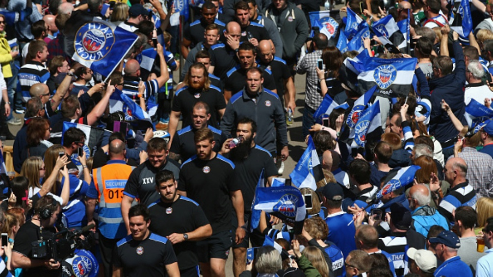 Bath Rugby 50 Gloucester Rugby 30