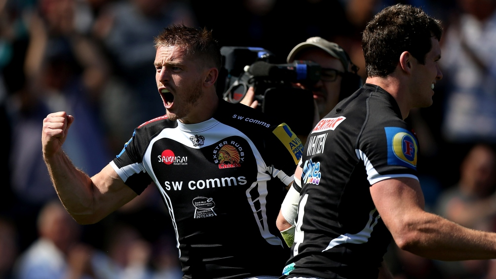 Exeter Chiefs 44 Sale Sharks 16