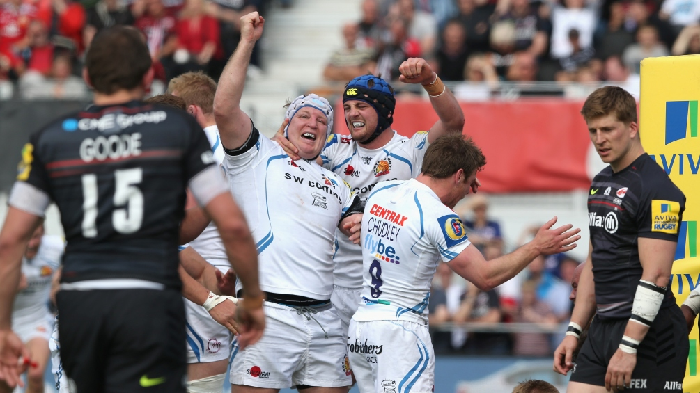 Saracens 20 Exeter Chiefs 24