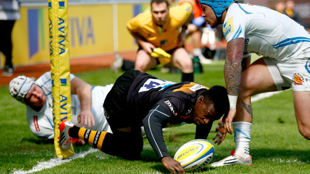 Wasps 36 Exeter Chiefs 29