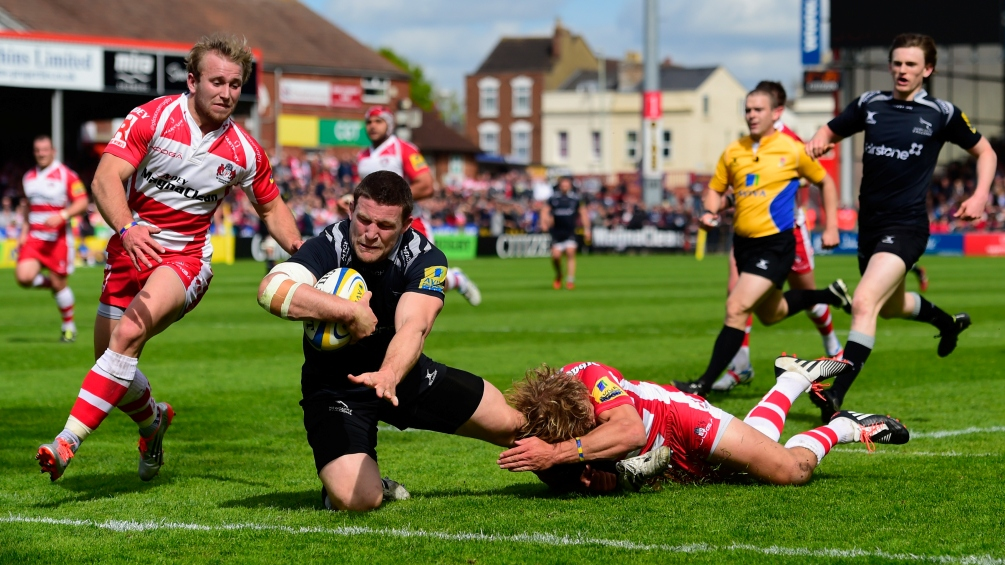 Gloucester Rugby 42 Newcastle Falcons 40